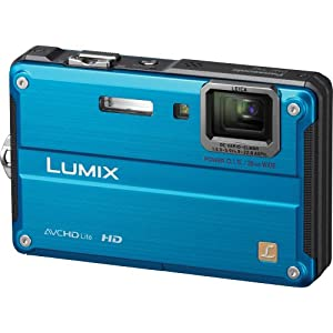 Panasonic Lumix DMC-TS2 14.1 MP Waterproof Digital Camera with 4.6x Optical Image Stabilized Zoom with 2.7-Inch LCD (Blue)