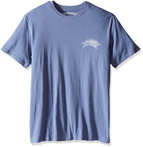 Margaritaville Men's S/s It/s 5 O'clock Somewhere T-Shirt, Country Blue, X-Large (Margaritaville Shirt compare prices)