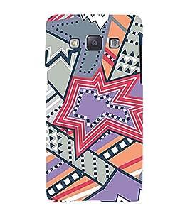 Star Design Pattern Cute Fashion 3D Hard Polycarbonate Designer Back Case Cover for Samsung Galaxy A5 :: Samsung Galaxy A5 Duos :: Samsung Galaxy A5 A500F A500FU A500M A500Y A500YZ A500F1/A500K/A500S A500FQ A500F/DS A500G/DS A500H/DS A500M/DS A5000