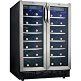 Danby 54-Bottle Dual Zone Built-In or Freestanding Wine Cooler