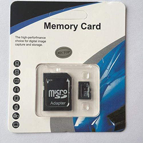 Best Buy! HICTOP 8GB Class 6 TF MicroSD Micro SD Flash Memory Card Top HQ, Comes with an Adapter (8GB)
