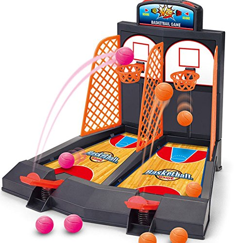 Basketball-Shooting-Game-YUYUGO-Desktop-Table-Best-Classic-Arcade-Games-Mini-Basketball-Hoop-Set-for-Childrens-Development-for-Kids-Age-4-Fun-Activity-Toy-for-Adults-Helps-Reduce-Stress
