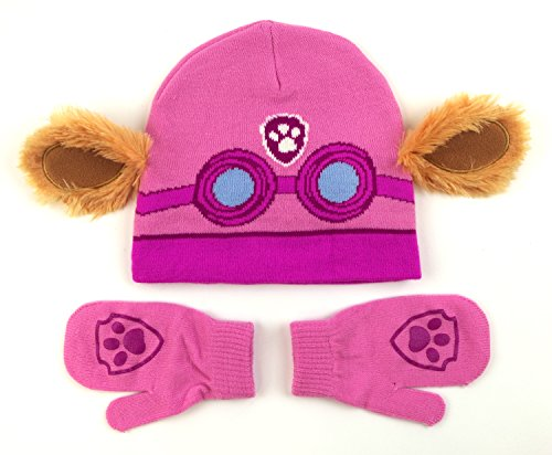 Nickelodeon Paw Patrol Skye Costume Hat and Mittens Set