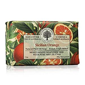 Wavertree & London Sicilian Orange luxury soap