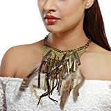 Pep My Persona Feather Beauty Necklace For Women