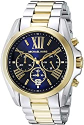 Michael Kors Women's MK5976 Bradshaw Two-Tone Stainless Steel Watch