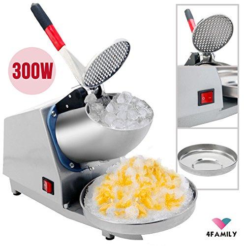 143LBS 300W Electric Ice Crusher Shaver Machine Snow Cone Maker Shaved Ice (Vanilla Cone Machine compare prices)