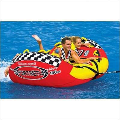 Image of Sportsstuff Half Pipe Rampage Towable Tube and Optional 2K Tow Rope 53-2155 / 57-1522 (B00117AFEW)