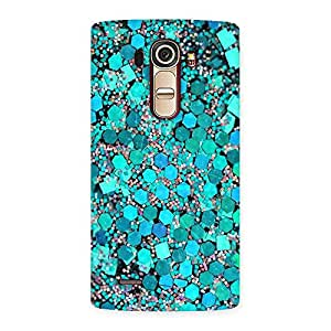 Delighted Paper Green Print Back Case Cover for LG G4