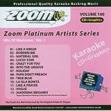 Karaoke Cdg Madonna Vol.1
