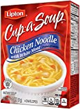 Lipton Cup-A-Soup, Chicken Noodle with White Meat 1.8 oz (Pack of 12)