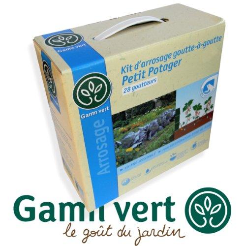 *GAMM VERT* Kit d'Arrosage goutte à goutte - 28 goutteurs - petit...