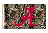 NCAA Alabama Crimson Tide 3-by-5 Foot Flag with Grommets - Realtree Camo Background at Amazon.com