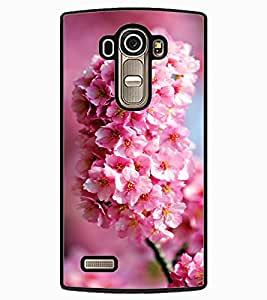 ColourCraft Lovely Flowers Bunch Design Back Case Cover for LG G4