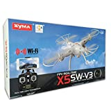 Cheerwing-Syma-X5SW-V3-FPV-Explorers2-24Ghz-4CH-6-Axis-Gyro-RC-Headless-Quadcopter-Drone-UFO-with-HD-Wifi-Camera-White