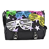 Living Dead Souls Messenger Bag SHUTTER black