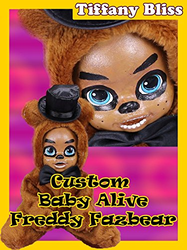 Custom FNAF Freddy Fazbear Baby Alive Doll Eats Play-Doh Poops Blind Bags Contains Jumpscares