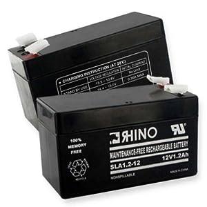 12 VOLT 1.2 Ah BATTERY-Battery