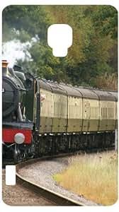 Steam Engine Train White Back Cover Case for LG Optimus L7 II P710