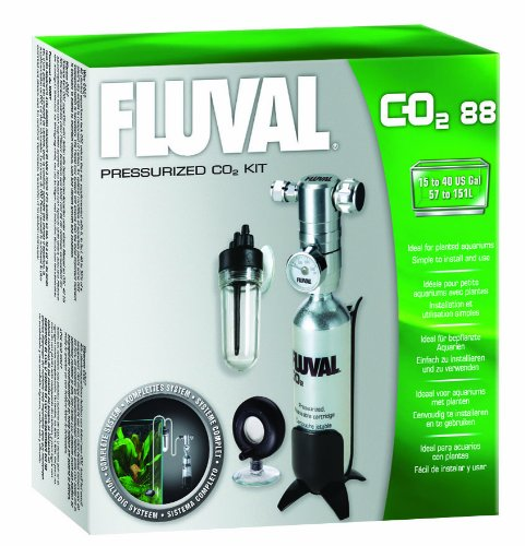 Fluval CO2 Kit 88g Pressurised