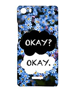 1on1 Selfie Back Cover for Micromax Canvas 5 (Multi-coloured)