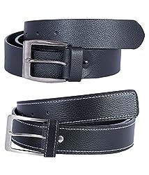 Hardy's Collection Men's Belt (Hardy-782_Black_40)
