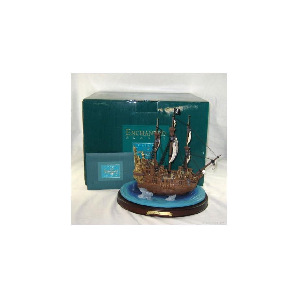 Disney Walt Disney Collector Club Peter Pan Jolly Roger Pirate Ship