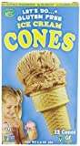 Lets Do Organic Ice Cream Cones, Gluten Free, 1.2-Ounce Packages (Pack of 4)