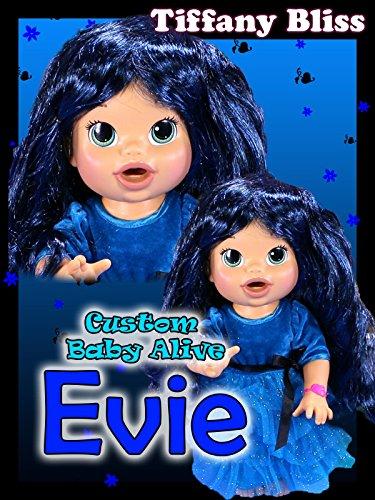 Descendants Evie Custom Baby Alive Eats Play Doh Treats Poops Blind Bag Toys Surprises