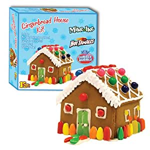 Gingerbread House Kit ~ Pre-baked with Candy for Decorating