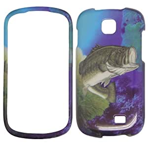 Samsung i827 - Beautiful Ocean Sceen Bass Fish Hard Case, Cover, Snap On, Faceplate