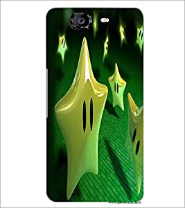 PrintDhaba Star Eyes D-2234 Back Case Cover for MICROMAX A350 CANVAS KNIGHT (Multi-Coloured)