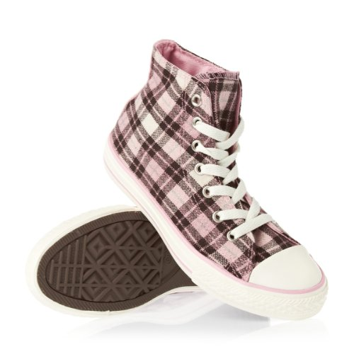 Converse All Star HI Shoes - Dark Earth/Quartz Pink/Egret