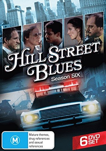 Hill Street Blues - Season 6 - DVD (Region 2, 4) (Complete Sixth Series)