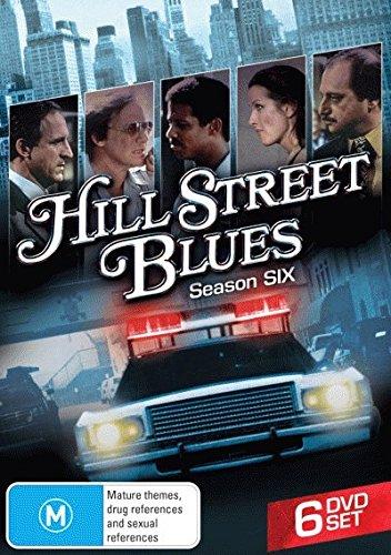 Hill Street Blues - Season 6 - DVD (Region 2, 4) (Complete Sixth Series)