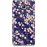 Cover Affair Flowers 3D Printed Back Cover Case For Samsung Galaxy A5