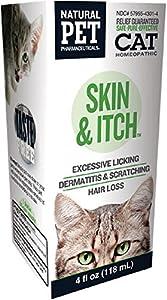 Skin & Itch Irritations For Felines KingBio Natural Pet 4 oz Liquid