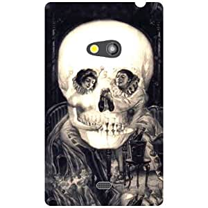 Nokia Lumia 625 Back Cover - Skull Designer Cases