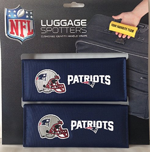 patriots-luggage-spotter-suitcase-handle-wrap-bag-tag-locator-with-id-pocket-2-pack-closeout-great-g