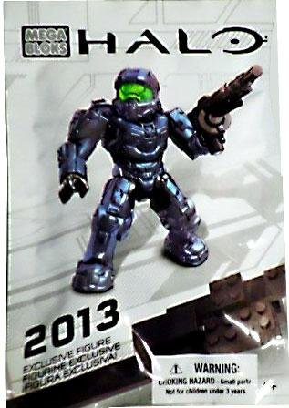 1 X SDCC 2013 Exclusive Mega Bloks Halo Spartan Figure 99693 - 1