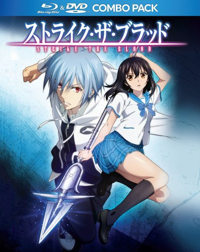 Blu-ray : Strike the Blood DVD / BD TV Series Collection (With DVD, 4 Disc)