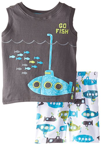 Kids headquarters baby boys 39 tank top with microfiber for Go fish clothing