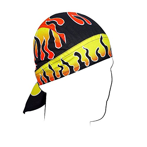 Zan Headgea Flydanna, Cotton, Reverse Flames