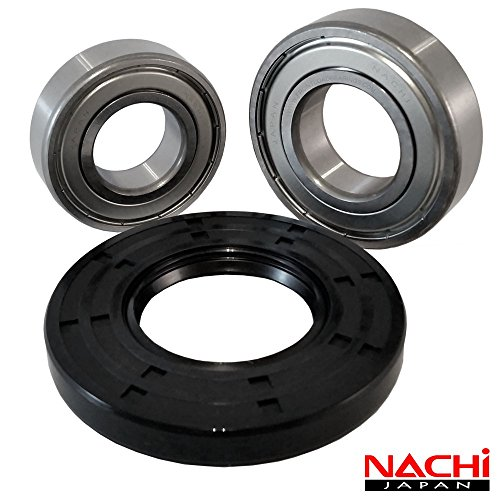 Nachi Front Load Kenmore Washer Tub Bearing and Seal Kit Fits Tub W10772618 (5 year replacement warranty and full HD