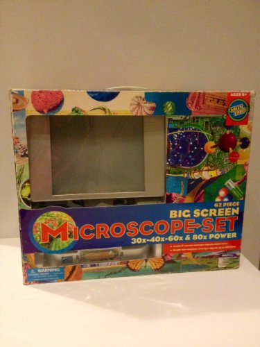 Big Screen Microscope Set