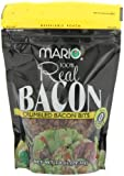 Our Bacon bits are made from 100% Bacon.   Our small bites add a the great taste of bacon to meals/receipes without all the added fat.