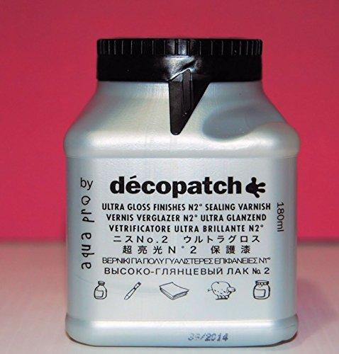 Decopatch Ultra Glossy Sealing Varnish No2 180ml VAUB180BO