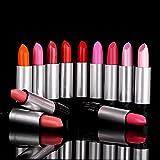 Anself 12Pcs/set Glossy The Balm Lip Rouge Easy To Wear Lipstick 12 Colors Fashion Women Beauty Makeup