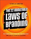 img - for by Laura Ries,by Al Ries The 22 Immutable Laws of Branding (text only)1st (First) edition[Paperback]2002 book / textbook / text book
