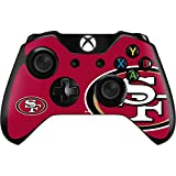 Skinit San Francisco 49ers Xbox One Controller Skin - NFL Skin - Ultra Thin, Lightweight Vinyl Decal Protection